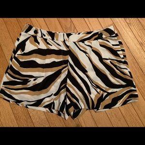 Loft Animal Print Shorts